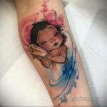 Татуировка с принцессой Моаной - фото 1