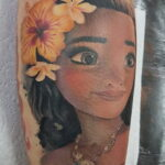 Татуировка с принцессой Моаной - фото 6