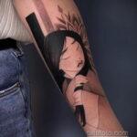 Татуировка с принцессой Мулан – Мулан - фото 2