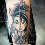 Татуировка с принцессой Мулан – Мулан - фото 3