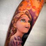 Татуировка с принцессой Рапунцель – Запутанная история - фото 3