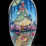 Татуировка с принцессой Тианой – Принцесса и лягушка - фото 2