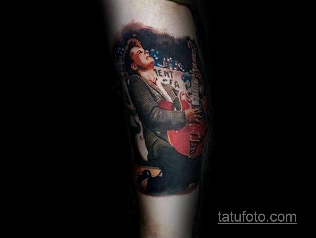 Тату фильм НАЗАД В БУДУЩЕЕ 26.10.2020 №197 -back to the future tattoo- tatufoto.com
