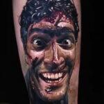Фото тату из фильма Зловещие Мертвецы 07.10.2020 №008 -evil dead tattoo- tatufoto.com