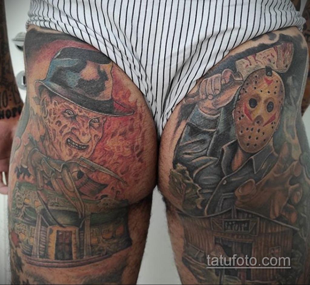 Фото тату с Фредди Крюгером 12.10.2020 №021 -freddy krueger tattoo- tatufoto.com
