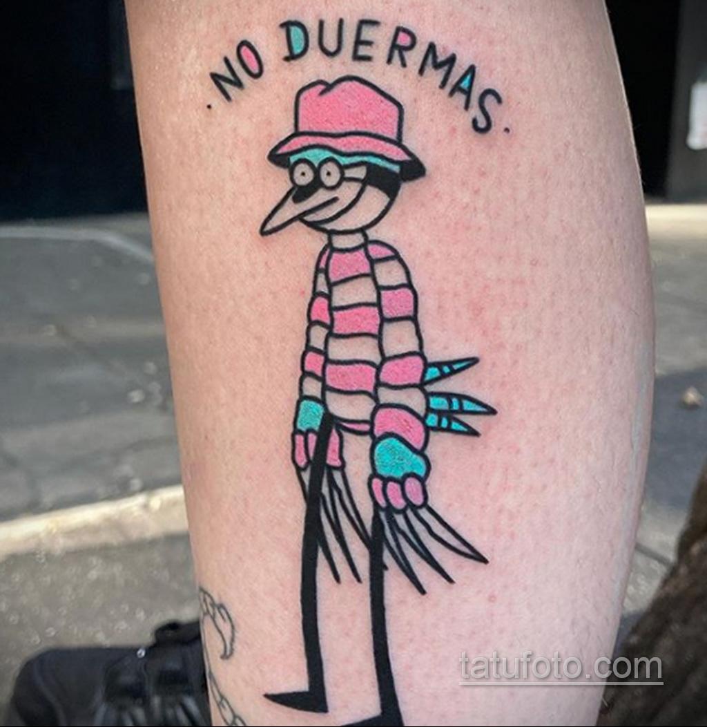 Фото тату с Фредди Крюгером 12.10.2020 №033 -freddy krueger tattoo- tatufoto.com