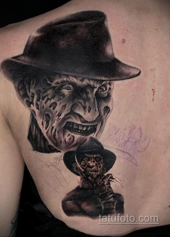 Фото тату с Фредди Крюгером 12.10.2020 №038 -freddy krueger tattoo- tatufoto.com