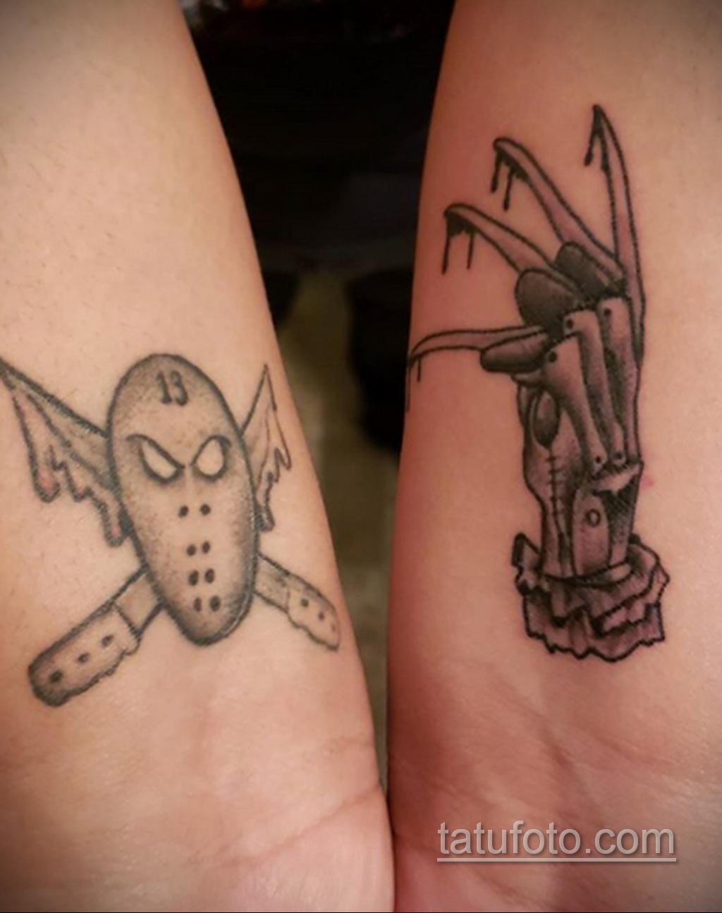 Фото тату с Фредди Крюгером 12.10.2020 №074 -freddy krueger tattoo- tatufoto.com