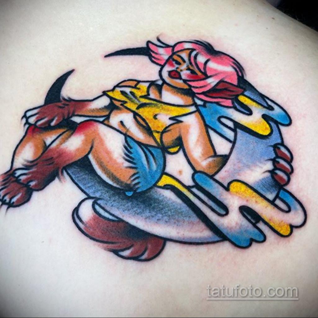 Фото тату с оборотнем 14.10.2020 №012 -werewolf tattoo- tatufoto.com
