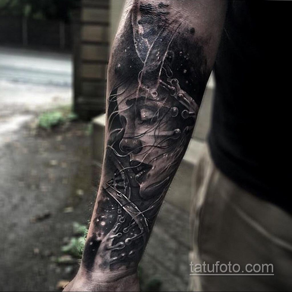 красивая тату на предплечье 25.10.2020 №012 -forearm tattoo- tatufoto.com
