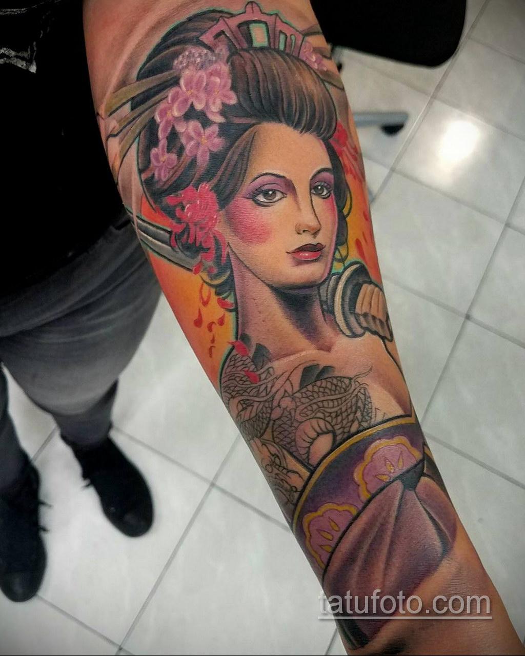 красивая тату на предплечье 25.10.2020 №036 -forearm tattoo- tatufoto.com