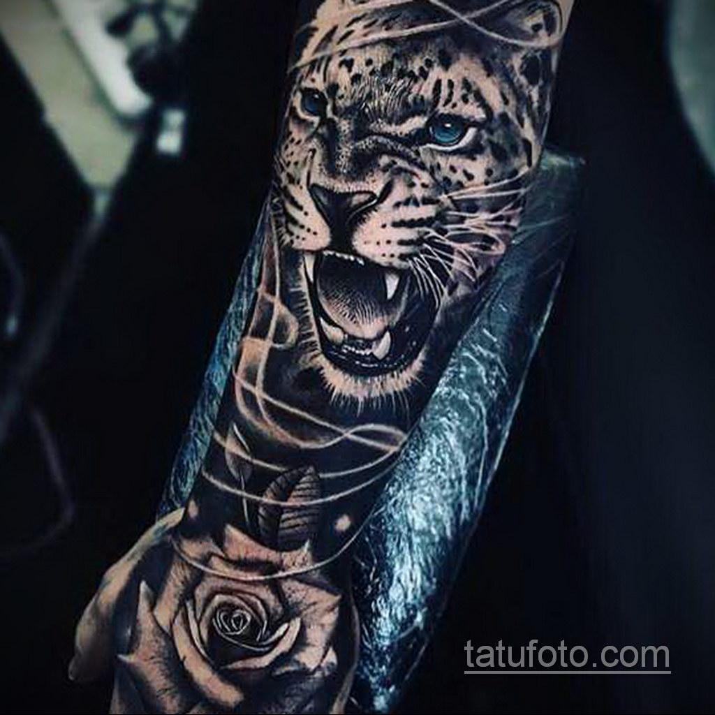 красивая тату на предплечье 25.10.2020 №042 -forearm tattoo- tatufoto.com