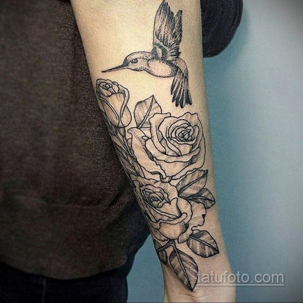красивая тату на предплечье 25.10.2020 №044 -forearm tattoo- tatufoto.com