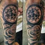 татуировка часов на предплечье 25.10.2020 №041 -forearm tattoo- tatufoto.com