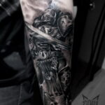 татуировки воинов на предплечье 25.10.2020 №013 -forearm tattoo- tatufoto.com
