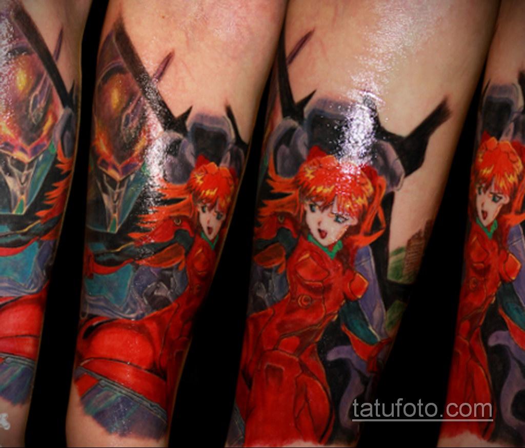 татуировки на предплечье цветная 25.10.2020 №035 -forearm tattoo- tatufoto.com