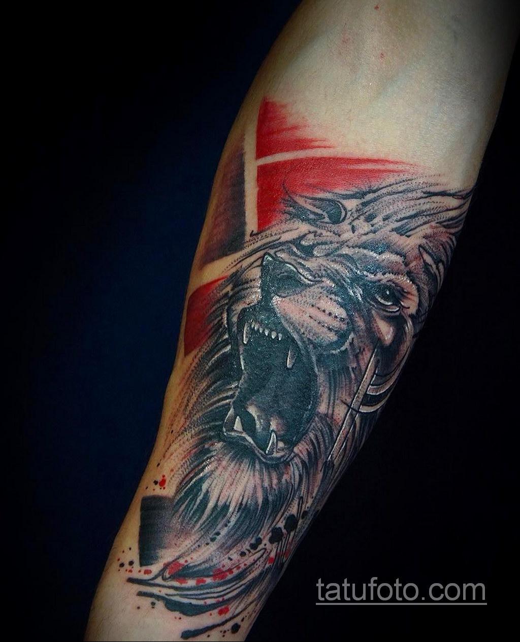 татуировки на предплечье цветная 25.10.2020 №048 -forearm tattoo- tatufoto.com