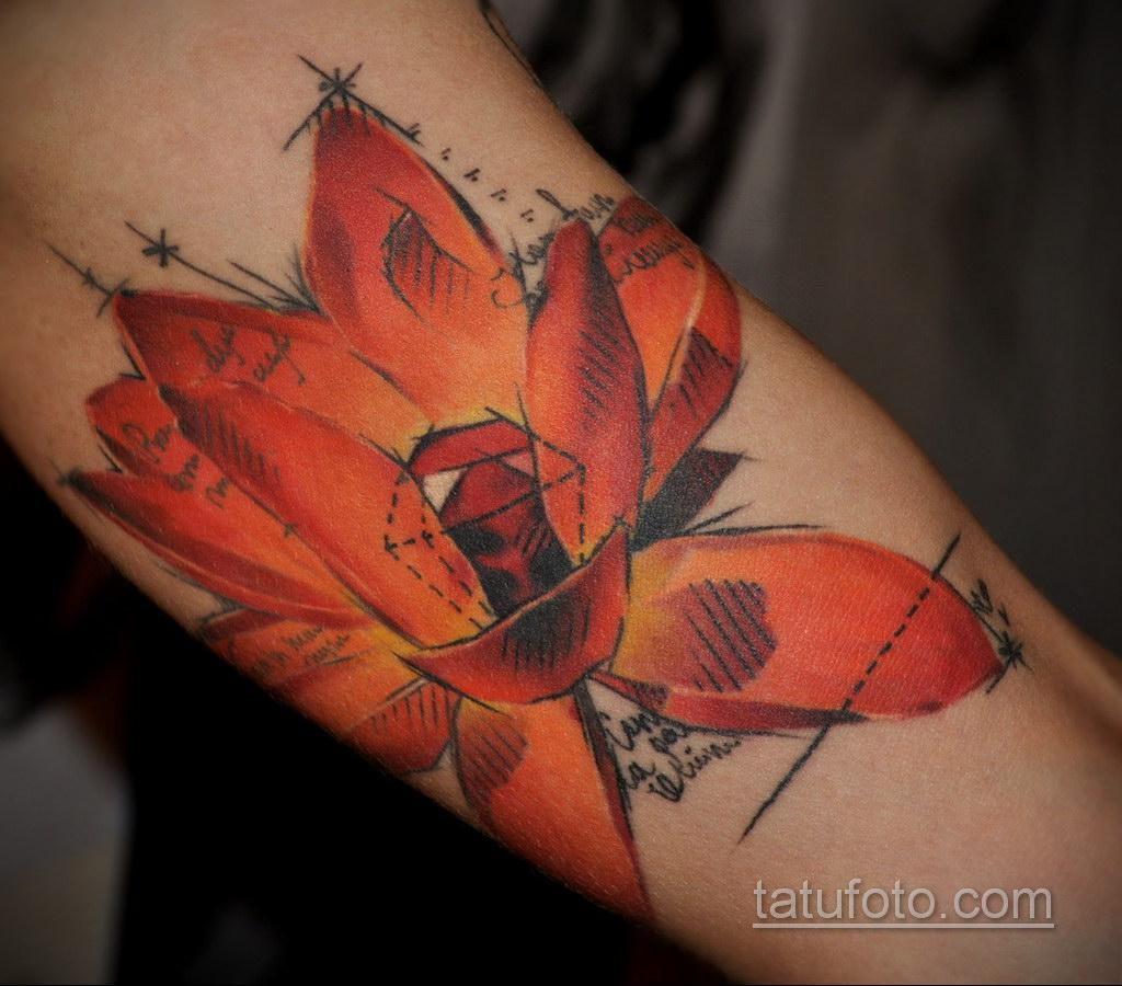 татуировки цветов на предплечье 25.10.2020 №035 -forearm tattoo- tatufoto.com