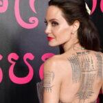 Анджелина Джоли тату - Angelina Jolie tattoo - фото 1