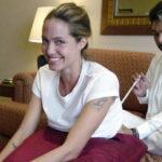 Анджелина Джоли тату - Angelina Jolie tattoo - фото 2