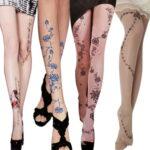 Временная татуировка на колготках - фото 1