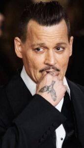 Джонни Депп тату - Johnny Depp tattoo - фото 1