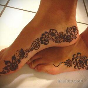 Простой рисунок хной 28.11.2020 №258 -Simple henna drawing- tatufoto.com