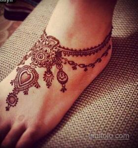 Простой рисунок хной 28.11.2020 №277 -Simple henna drawing- tatufoto.com