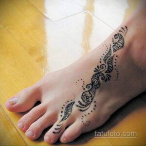 Простой рисунок хной 28.11.2020 №296 -Simple henna drawing- tatufoto.com