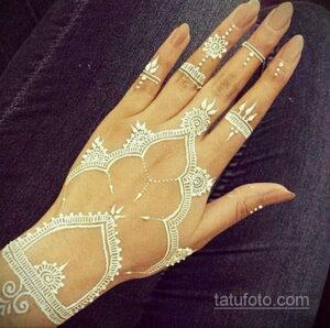 Простой рисунок хной 28.11.2020 №312 -Simple henna drawing- tatufoto.com