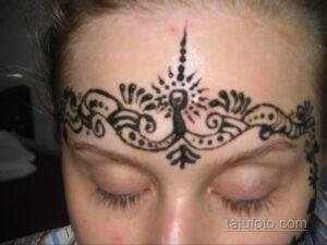 Рисунок тату хной для девушки 28.11.2020 №019 -henna tattoo for girl- tatufoto.com