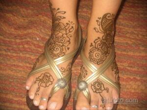 Рисунок тату хной для девушки 28.11.2020 №021 -henna tattoo for girl- tatufoto.com