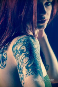 Рисунок тату хной для девушки 28.11.2020 №037 -henna tattoo for girl- tatufoto.com