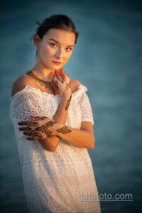 Рисунок тату хной для девушки 28.11.2020 №045 -henna tattoo for girl- tatufoto.com