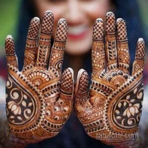 Рисунок тату хной для девушки 28.11.2020 №115 -henna tattoo for girl- tatufoto.com