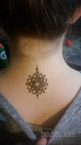 Рисунок тату хной для начинающих 28.11.2020 №020 -Henna tattoo drawing- tatufoto.com