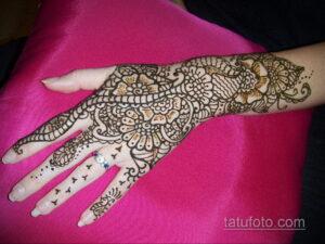 Рисунок тату хной для начинающих 28.11.2020 №042 -Henna tattoo drawing- tatufoto.com