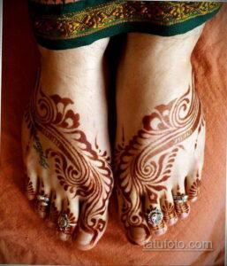 Рисунок тату хной для начинающих 28.11.2020 №050 -Henna tattoo drawing- tatufoto.com