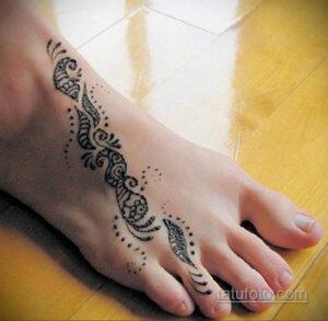 Рисунок тату хной для начинающих 28.11.2020 №065 -Henna tattoo drawing- tatufoto.com
