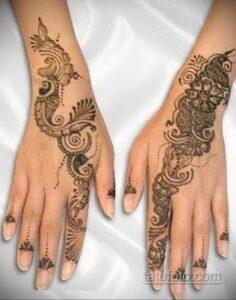 Рисунок тату хной для начинающих 28.11.2020 №069 -Henna tattoo drawing- tatufoto.com