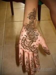 Рисунок тату хной для начинающих 28.11.2020 №070 -Henna tattoo drawing- tatufoto.com