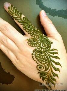 Рисунок тату хной для начинающих 28.11.2020 №076 -Henna tattoo drawing- tatufoto.com