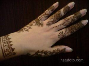 Рисунок тату хной для начинающих 28.11.2020 №106 -Henna tattoo drawing- tatufoto.com