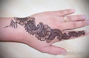 Рисунок тату хной для начинающих 28.11.2020 №144 -Henna tattoo drawing- tatufoto.com