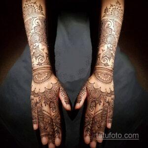 Рисунок тату хной для начинающих 28.11.2020 №147 -Henna tattoo drawing- tatufoto.com