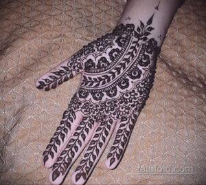 Рисунок тату хной для начинающих 28.11.2020 №148 -Henna tattoo drawing- tatufoto.com