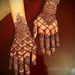 Рисунок тату хной для начинающих 28.11.2020 №158 -Henna tattoo drawing- tatufoto.com
