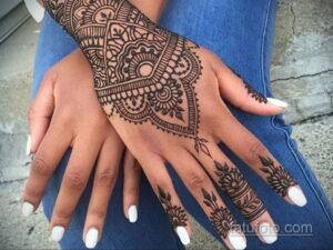 Рисунок тату хной для начинающих 28.11.2020 №181 -Henna tattoo drawing- tatufoto.com