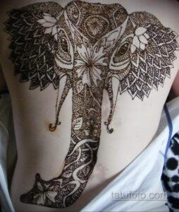 Рисунок тату хной для начинающих 28.11.2020 №183 -Henna tattoo drawing- tatufoto.com