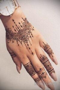 Рисунок тату хной для начинающих 28.11.2020 №186 -Henna tattoo drawing- tatufoto.com